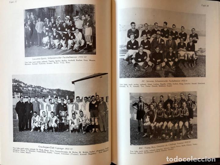Coleccionismo deportivo: LIBRO FUTBOL: EL LIBRO DE ORO DEL FUTBOL SUIZO DEL AÑO 1953 - Foto 4 - 243606575