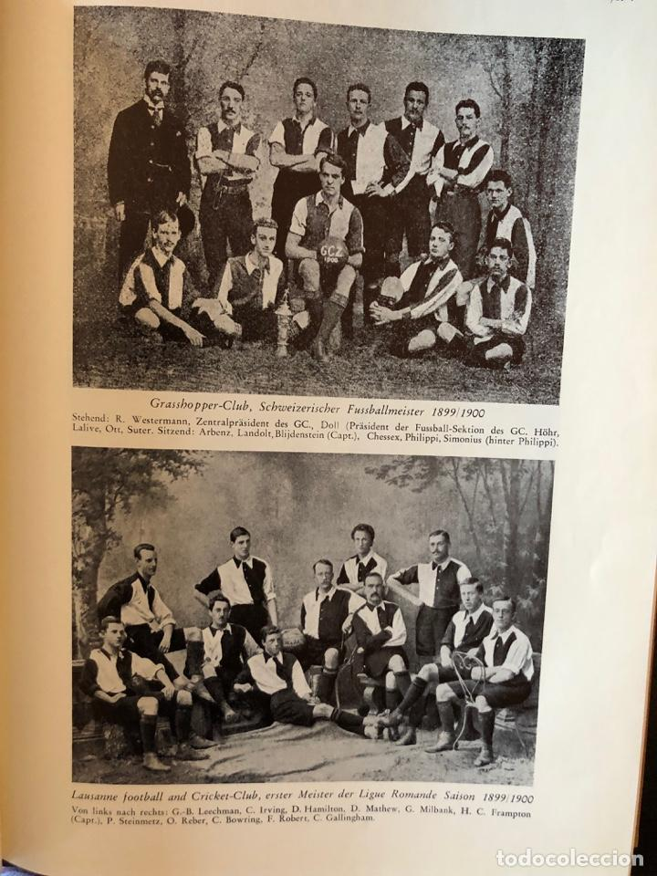 Coleccionismo deportivo: LIBRO FUTBOL: EL LIBRO DE ORO DEL FUTBOL SUIZO DEL AÑO 1953 - Foto 5 - 243606575