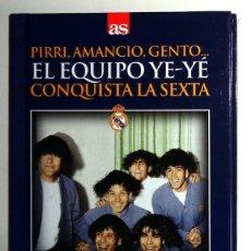 Coleccionismo deportivo: LIBRO + DVD AS - FÚTBOL 6ª COPA DE EUROPA REAL MADRID 1965-1966 65/66 - PARTIZAN PIRRI AMANCIO GENTO. Lote 245022045