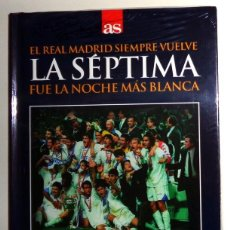 Coleccionismo deportivo: LIBRO + DVD AS - FÚTBOL 7ª COPA DE EUROPA REAL MADRID 1997-1998 97/98 - JUVENTUS. MIJATOVIC. NUEVO!!. Lote 245022640
