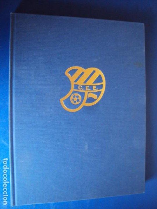 (LI-210304)C.E.EUROPA .SARDENYA: 50 ANYS D'EUROPEISME (1940-1990) RAMON VERGES I SOLER.DEDICADO (Coleccionismo Deportivo - Libros de Fútbol)