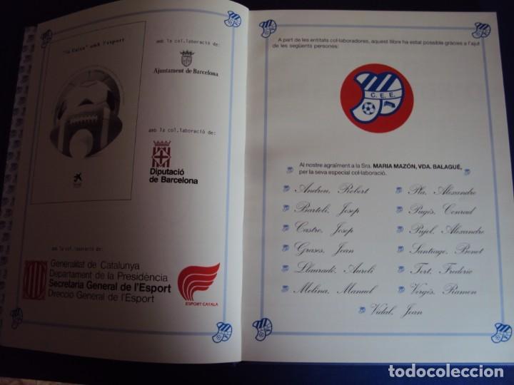 Coleccionismo deportivo: (LI-210304)C.E.EUROPA .SARDENYA: 50 ANYS DEUROPEISME (1940-1990) RAMON VERGES I SOLER.DEDICADO - Foto 5 - 245421425