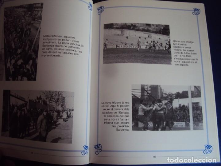 Coleccionismo deportivo: (LI-210304)C.E.EUROPA .SARDENYA: 50 ANYS DEUROPEISME (1940-1990) RAMON VERGES I SOLER.DEDICADO - Foto 6 - 245421425