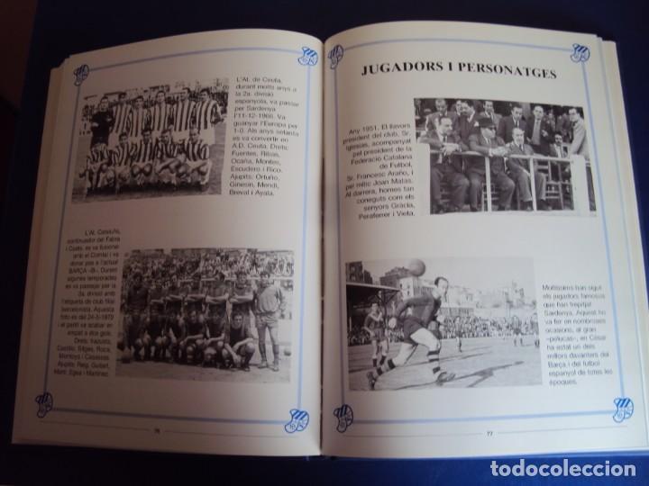 Coleccionismo deportivo: (LI-210304)C.E.EUROPA .SARDENYA: 50 ANYS DEUROPEISME (1940-1990) RAMON VERGES I SOLER.DEDICADO - Foto 7 - 245421425