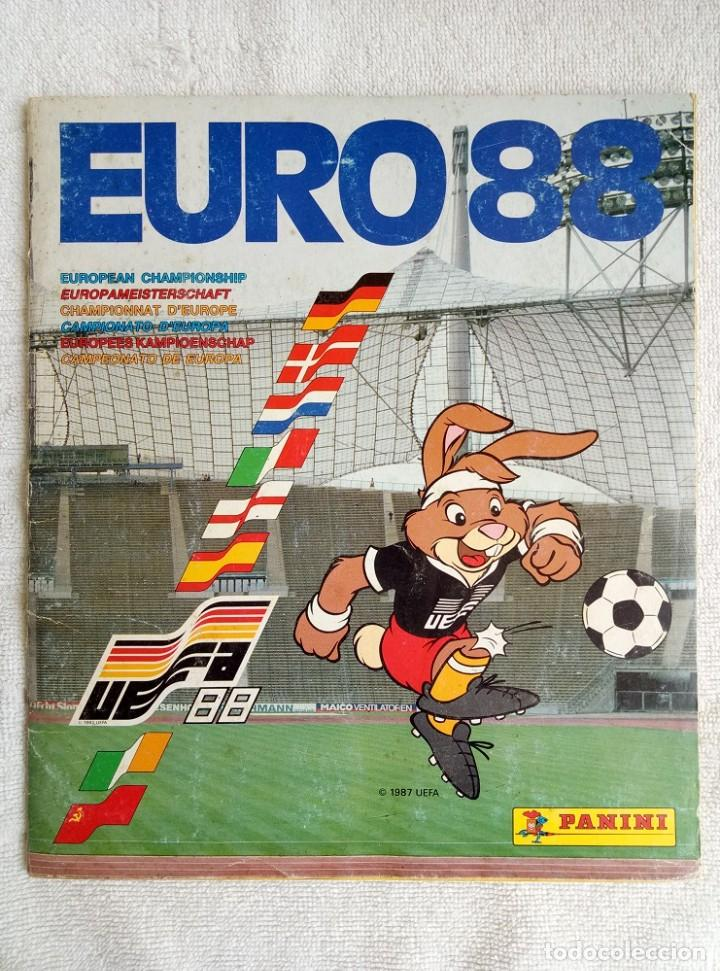 "ALBUM PANINI. ""UEFA CUP EURO 88"" (A13) (Coleccionismo Deportivo - Libros de Fútbol)"