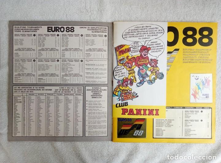 """Coleccionismo deportivo: ALBUM PANINI. """"UEFA CUP EURO 88"""" (a13) - Foto 2 - 245720775"""
