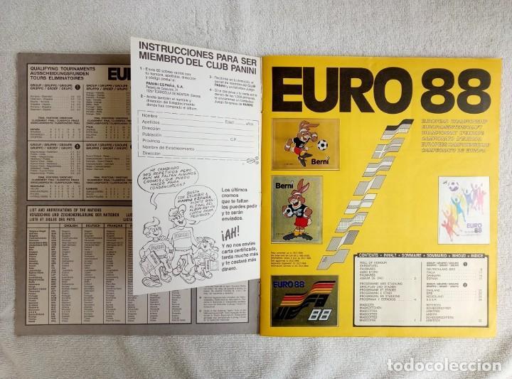 """Coleccionismo deportivo: ALBUM PANINI. """"UEFA CUP EURO 88"""" (a13) - Foto 3 - 245720775"""