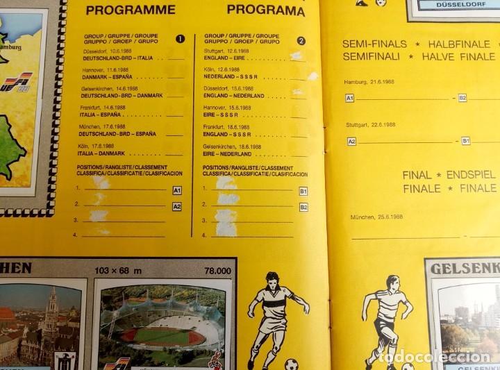 """Coleccionismo deportivo: ALBUM PANINI. """"UEFA CUP EURO 88"""" (a13) - Foto 7 - 245720775"""