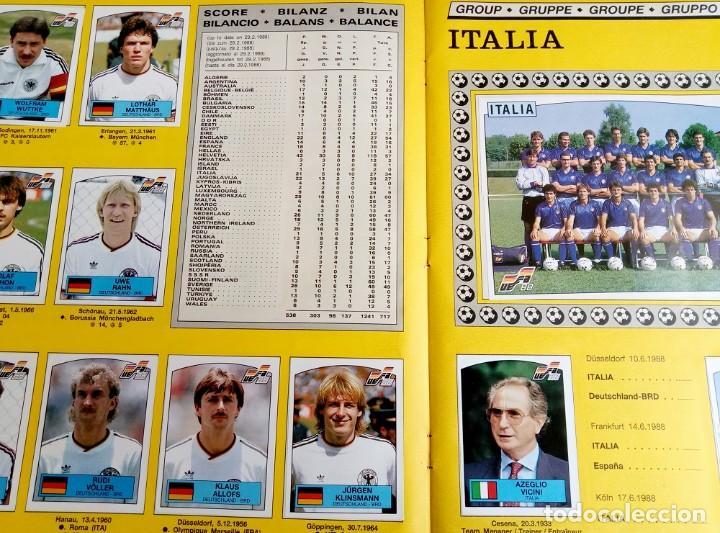 """Coleccionismo deportivo: ALBUM PANINI. """"UEFA CUP EURO 88"""" (a13) - Foto 8 - 245720775"""