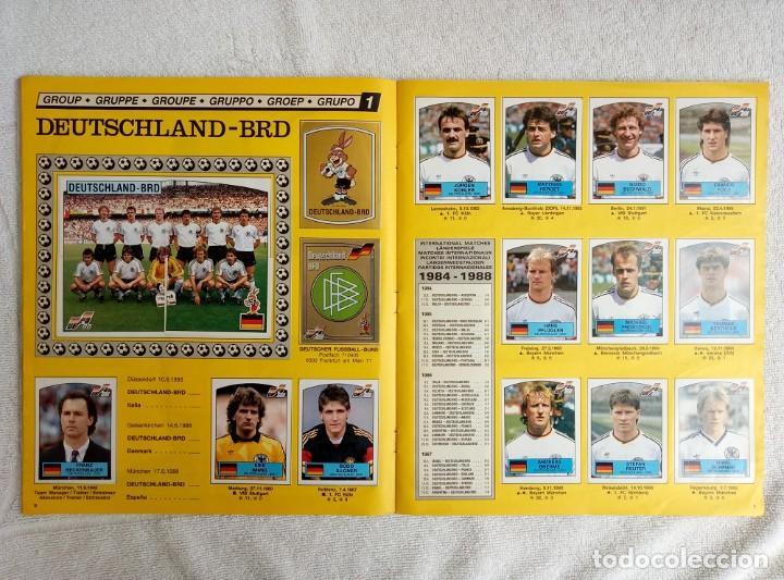"""Coleccionismo deportivo: ALBUM PANINI. """"UEFA CUP EURO 88"""" (a13) - Foto 9 - 245720775"""