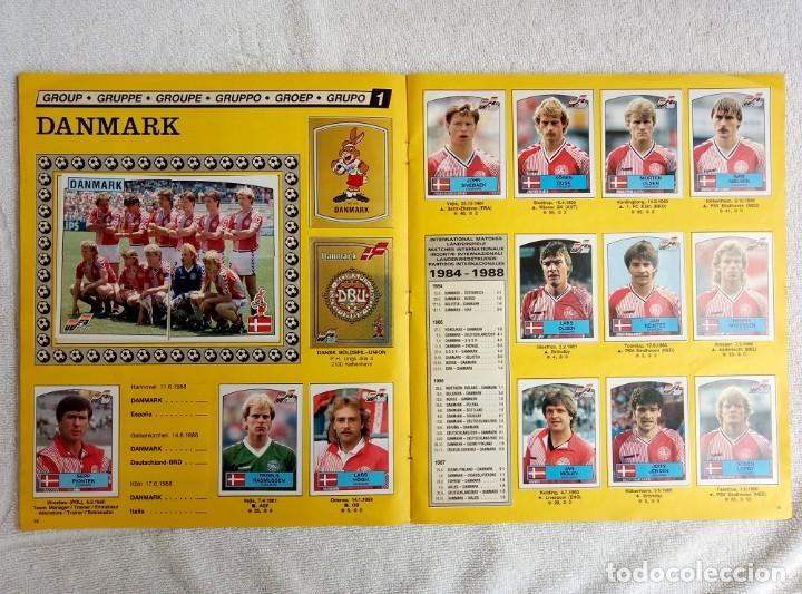 """Coleccionismo deportivo: ALBUM PANINI. """"UEFA CUP EURO 88"""" (a13) - Foto 10 - 245720775"""