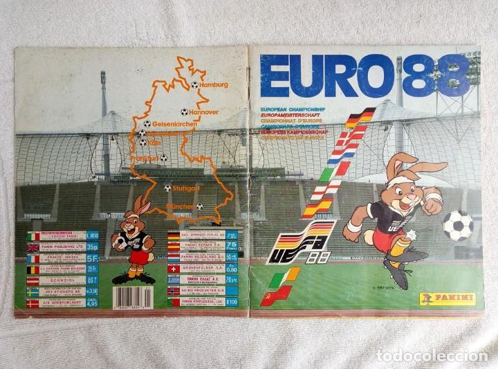 """Coleccionismo deportivo: ALBUM PANINI. """"UEFA CUP EURO 88"""" (a13) - Foto 15 - 245720775"""