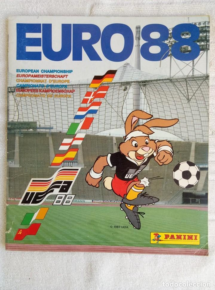 "ALBUM PANINI. ""UEFA CUP EURO 88"" (A14) (Coleccionismo Deportivo - Libros de Fútbol)"
