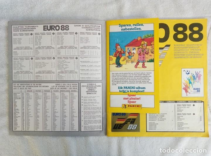 """Coleccionismo deportivo: ALBUM PANINI. """"UEFA CUP EURO 88"""" (a14) - Foto 2 - 245721620"""