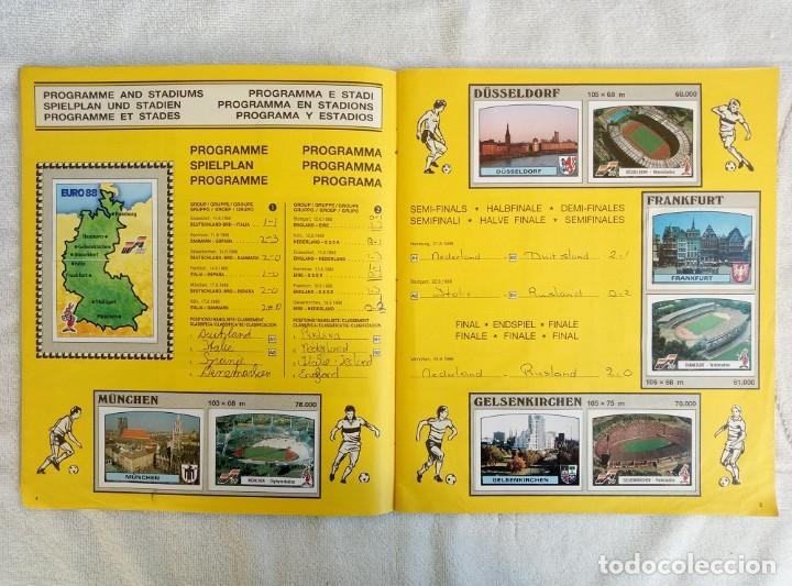 """Coleccionismo deportivo: ALBUM PANINI. """"UEFA CUP EURO 88"""" (a14) - Foto 4 - 245721620"""