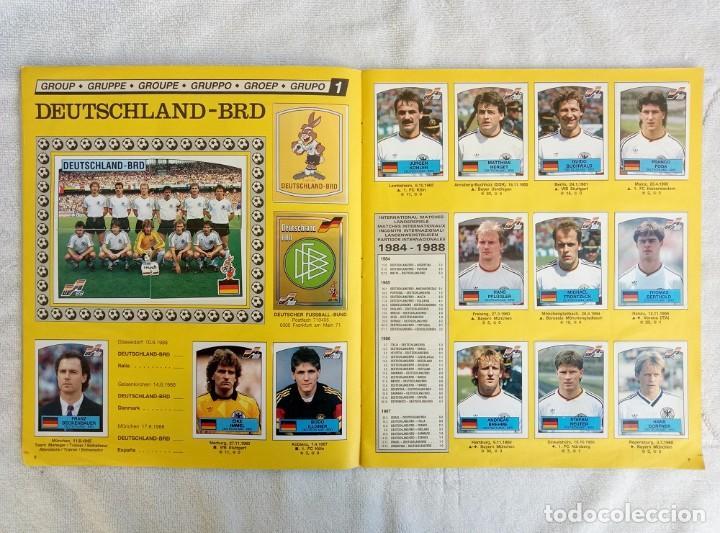 """Coleccionismo deportivo: ALBUM PANINI. """"UEFA CUP EURO 88"""" (a14) - Foto 5 - 245721620"""