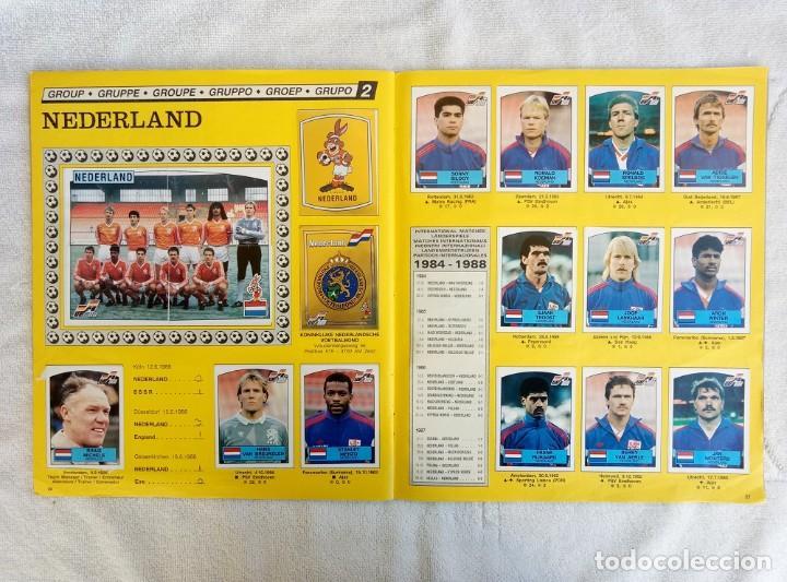 """Coleccionismo deportivo: ALBUM PANINI. """"UEFA CUP EURO 88"""" (a14) - Foto 9 - 245721620"""