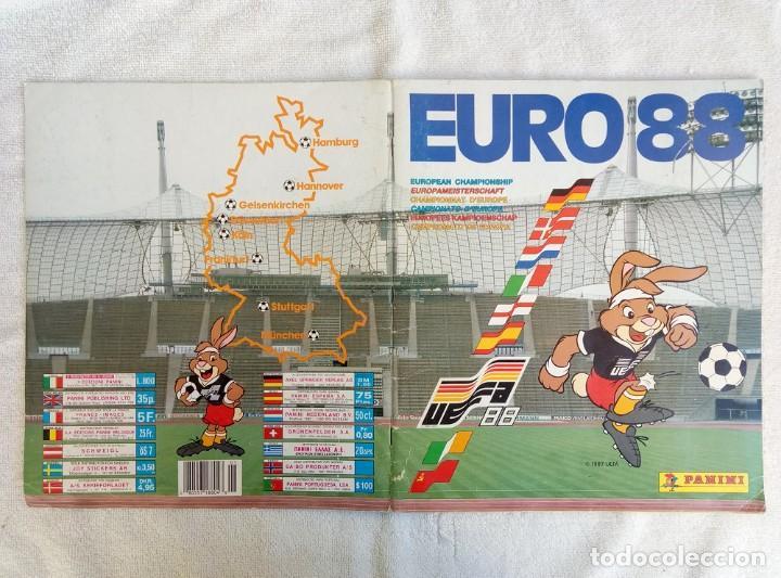 """Coleccionismo deportivo: ALBUM PANINI. """"UEFA CUP EURO 88"""" (a14) - Foto 12 - 245721620"""
