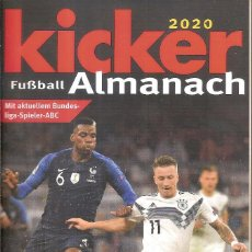 Coleccionismo deportivo: ANUARIO KICKER FUSSBALL ALMANACH 2020. Lote 248543355