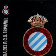 Coleccionismo deportivo: SEGURA PALOMARES : HISTORIA DEL REAL CLUB DEPORTIVO ESPAÑOL (ENCICLOPEDIA VASCA, 1974) GRAN FORMATO. Lote 251009730