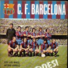 Coleccionismo deportivo: MARCO Y HERNÁEZ : C. F. BARCELONA CAMPEONES (1974). Lote 251011390