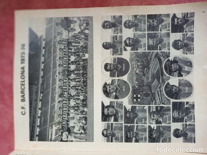 Coleccionismo deportivo: C.F. BARCELONA - ARSENAL - PROGRAMA 12 MARZO 1974- FOTO CRUYFF- - Foto 2 - 253095865