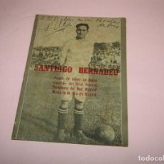 Coleccionismo deportivo: ANTIGUO SANTIAGO BERNABEU DE PRENSA CASTELLANA. Lote 253231880