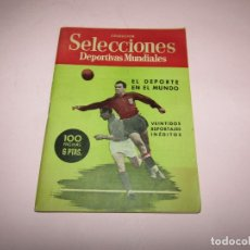Coleccionismo deportivo: ANTIGUO EL DEPORTE EN EL MUNDO CON 22 REPORTAJES INÉDITOS DEL AÑO 1950. Lote 253236490