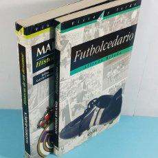 Coleccionismo deportivo: LOTE 2 LIBROS DE FUTBOL AGUILAR EL PAIS: FUTBOLCEDARIO Y MADRID-BARÇA HISTORIA DE UN DESAMOR. Lote 253797475