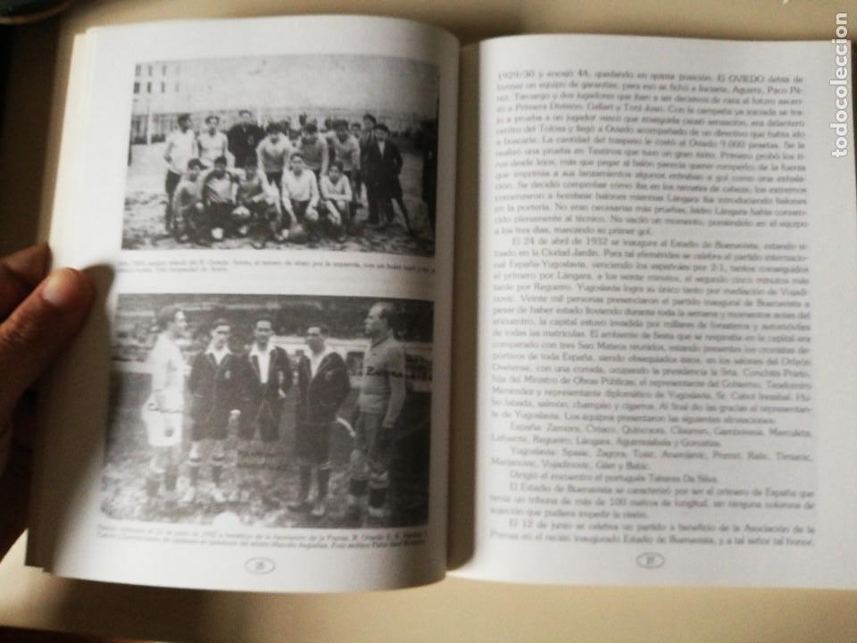 Coleccionismo deportivo: HISTORIA DEL REAL OVIEDO, S.A.D. - JUAN MARTÍN MERINO -JUANELE- 1992 - Foto 4 - 254253460