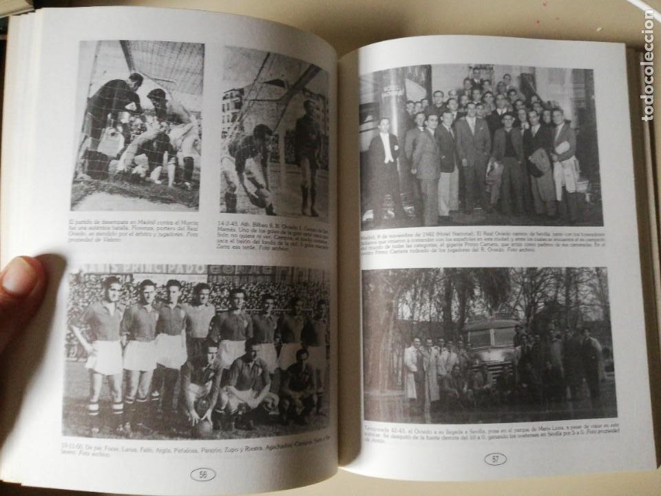 Coleccionismo deportivo: HISTORIA DEL REAL OVIEDO, S.A.D. - JUAN MARTÍN MERINO -JUANELE- 1992 - Foto 5 - 254253460