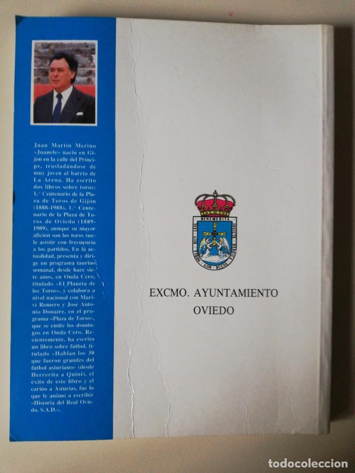 Coleccionismo deportivo: HISTORIA DEL REAL OVIEDO, S.A.D. - JUAN MARTÍN MERINO -JUANELE- 1992 - Foto 6 - 254253460