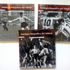 Coleccionismo deportivo: ANTOLOGIA FOTOGRAFICA DEL ATHLETIC, VOLS 1, 2 Y 3 - 1001 IMÁGENES CON HISTORIA, POR MANU CECILIO. Lote 255498775