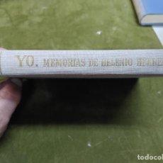 Coleccionismo deportivo: YO. MEMORIAS DE HELENIO HERRERA. MARTÍN GIRARD. EDIT PLANETA. 1º EDICIÓN. 1962. FC BARCELONA. Lote 257473425