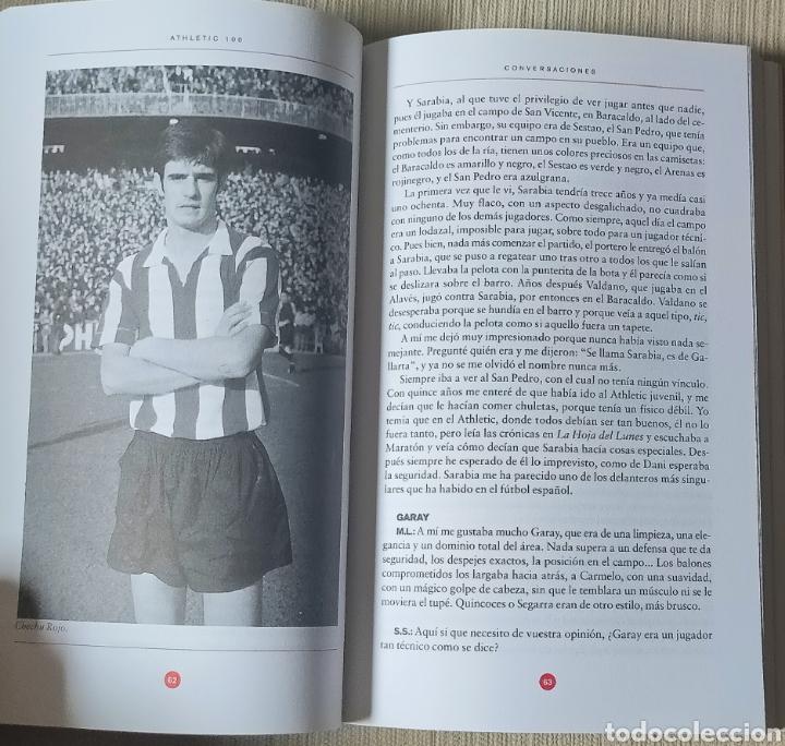 Coleccionismo deportivo: Athletic 100 Conversaciones en la Catedral. Cien años del Athletic Club de Bilbao - Foto 2 - 257667575