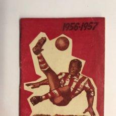 Coleccionismo deportivo: FÚTBOL, AGENDA DEPORTIVA TEMPORADA 1956/57, CALENDARIO LIGA 1957, 1A, 2A, 3A, DIVISIÓN. Lote 261307370