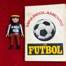 Coleccionismo deportivo: MINI-REGLAMENTO DE FUTBOL - ED. VERTICE 1973. Lote 262231985