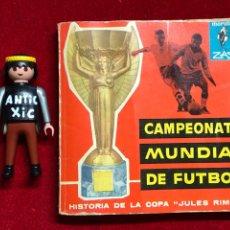 "Coleccionismo deportivo: CAMPEONATO MUNDIAL DE FUTBOL. HISTORIA DE LA COPA ""JULES RIMET"" - ED. BRUGUERA 1962. Lote 262232660"