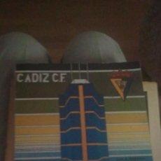 Coleccionismo deportivo: 75 AÑOS DEL CADIZ C.F. 1910-1985. LUIS ALBERTO BALBONTIN. CADIZ, 1985. PAGS: 160. Lote 262729990