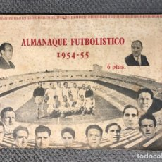 Coleccionismo deportivo: FUTBOL, LIBRO REVISTA. ALMANAQUE FUTBOLÍSTICO (1954 - 55) GRANDES REPORTAJES EN SU INTERIOR... Lote 263179060
