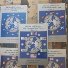 Coleccionismo deportivo: DIE TOP VEREINE DER EUROPAISCHEN UNION. Lote 263230860