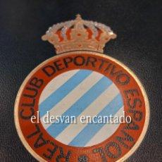 Coleccionismo deportivo: HISTORIA DEL REAL CLUB DEPORTIVO ESPAÑOL. EDITORIAL ENCICLOPEDIA VASCA. 1974. Lote 263651985