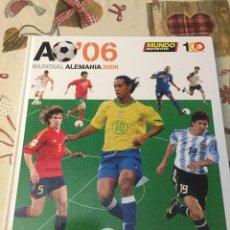 Coleccionismo deportivo: AO´06 (MUNDIAL DE ALEMANIA 2006). Lote 265937893