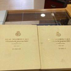 Coleccionismo deportivo: LOTE DE 2 TOMOS REAL MADRID. Lote 266717283