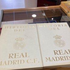 Coleccionismo deportivo: LOTE DE 2 TOMOS REAL MADRID. Lote 266717638