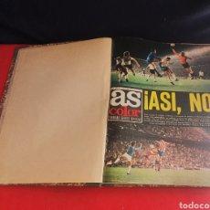 Collezionismo sportivo: ANTIGUO LIBRO DE AS COLOR AÑOS 1974-75 .VER FOTOS. Lote 269654778