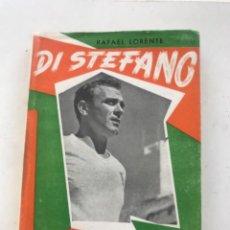 Coleccionismo deportivo: DI STÉFANO CUENTA SU VIDA... - REAL MADRID - POR RAFAEL LORENTE 1954.. Lote 271817383