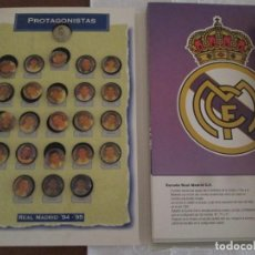 Coleccionismo deportivo: REAL MADRID 94/95. Lote 273250973