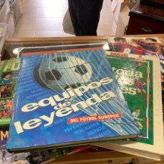 Coleccionismo deportivo: LOTE DE LIBROS DE FULTBOL, TODO LO QUE SE VE. Lote 273271063