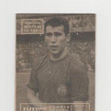 Coleccionismo deportivo: COLECCION IDOLOS DE LA FAMA-AMANCIO-REAL MADRID-GLORIA DEL FUTBOL ESPAÑOL-NUMERO 3. Lote 274272593